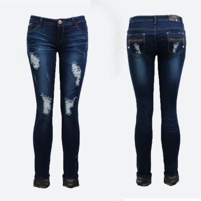 Jeans déchiré militaire